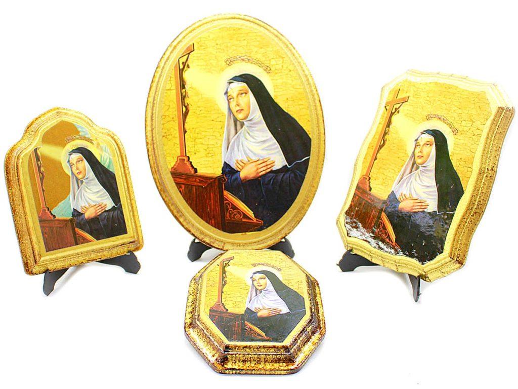 icone legno Santa Rita