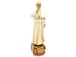 Statua Papa Francesco