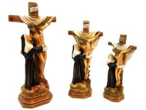 Santa Rita abbraccia Gesù