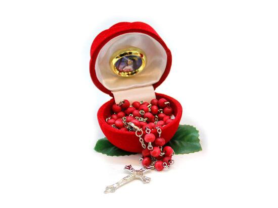cofanetto rosa rosario