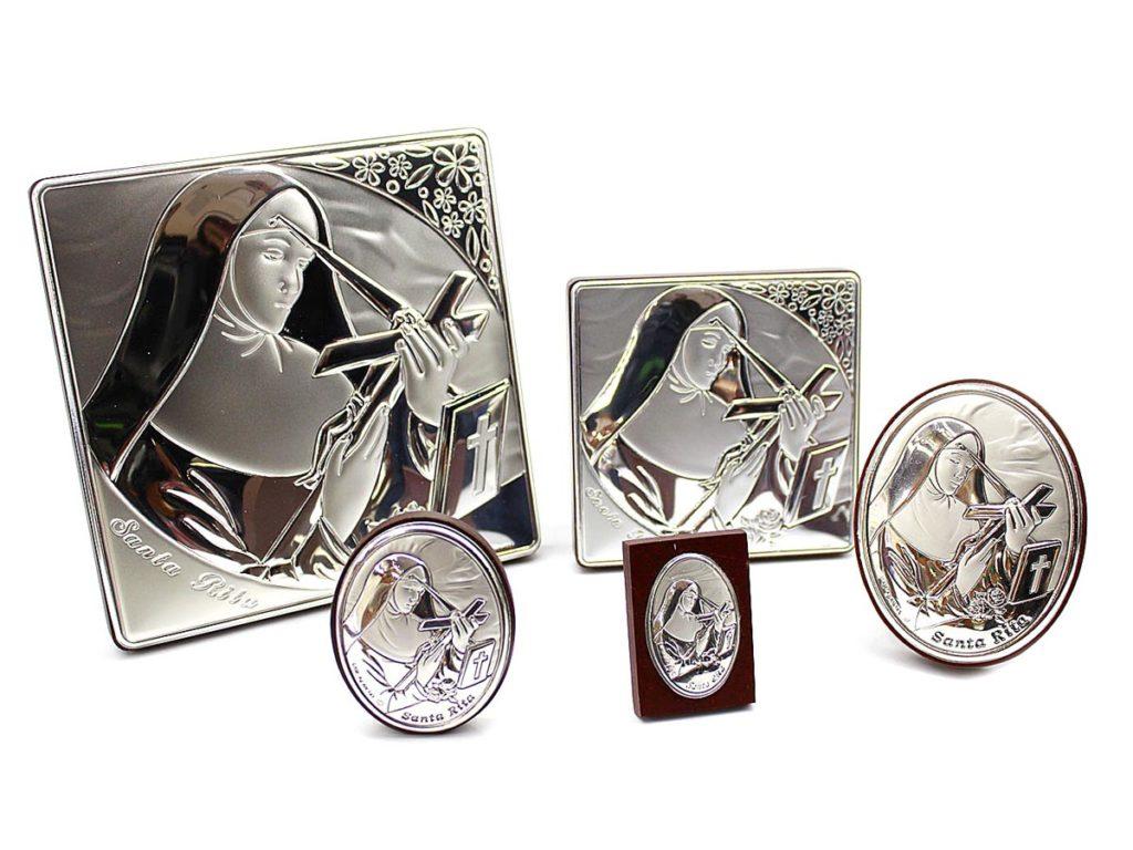 icone argento santa rita