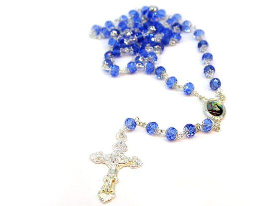 rosario mezzo cristallo