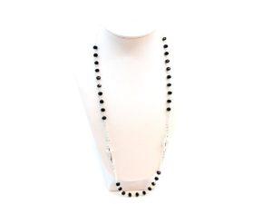 rosario da collo in argento