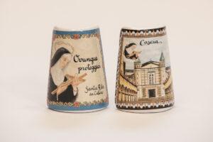 Calamite in ceramica