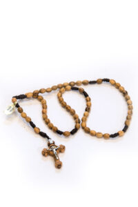 Rosario in legno di olivo di Santa Rita
