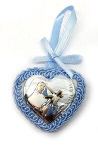 Medaglione capoculla neonati Santa Rita